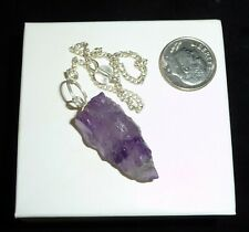 Amethyst Crystal Natural Pendulum 7 grams
