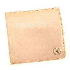 Auth CHANEL wallet COCO Button Women''s used T222