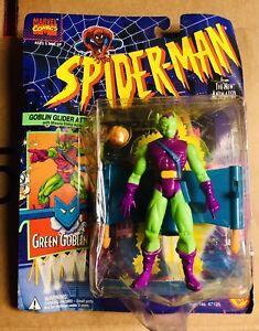 "Marvel Spider-Man Green Goblin Animated Series 5"" Figure Vintage ToyBiz (1994)"