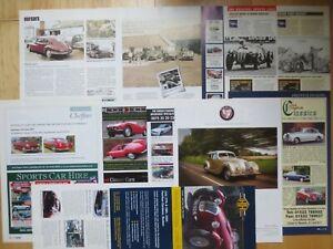 Bristol 400 401 405 406 407 411 Britannia cars Reports/ Adverts & Frazer Nash