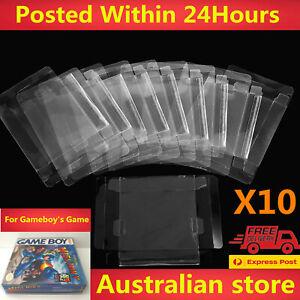 10Pcs/Set Plastic Cartridge Cover Box Protector For Nintendo Game Boy DMG