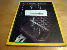 John Deere Sw20300 MoistureMatch Grain Moisture Tester Operator's Manual Jd Oem
