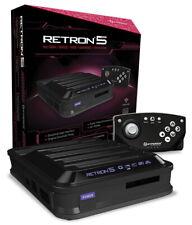 Hyperkin RetroN 5 HD Gaming Console - Black [Retro System GBA Genesis NES SNES]