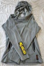 Melanzana micro grid hoodie womens XS extra small