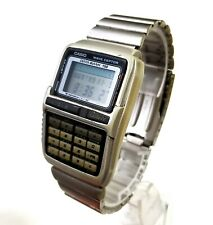 RARE,UNIQUE Men's JAPAN DIGITAL Calculator Watch CASIO 2296 DBC-W150. Data Bank