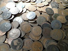 english Pennies coin From 1895-1967 200 coins in this bulk lot 200 coins british