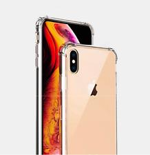 iPhone 7 / 8Plus Phone Crystal Transparent Shockproof Case + Front Film