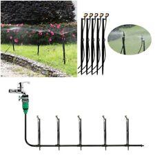 Rotating Garden Lawn Irrigation 360 Sprinkler 10 Pcs Watering System Micro Spray