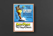 Monty Python & the Holy Grail Movie Poster (1975) [Waterproof & Tear-Resistant]