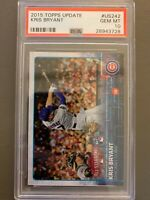 2015 Topps Update KRIS BRYANT RC US242 PSA 10 - Chicago Cubs