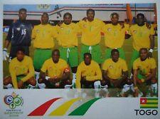 Panini 511 Team Togo FIFA WM 2006 Germany