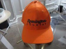 Remington Country Orange Hat Baseball Cap Adjustable Firearms Ammunition Used