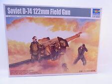 LOT 26712   Trumpeter 02334 Soviet D-74 122mm Field Gun 1:35 Bausatz NEU in OVP