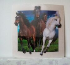 horses amazing effect 5D Lenticular  Holographic Stereoscopic Picture Wall Art