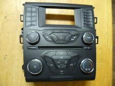 13 15 Ford Fusion Heater AC CD Audio Climate Control Dash Panel DS7T-18E243-EL