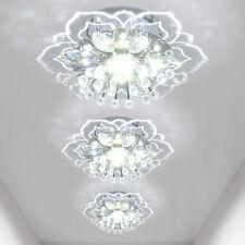 Modern LED Crystal Ceiling Light Lamp Fixtures Chandelier Hallway Home Lighting