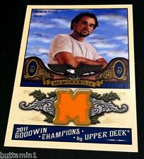 Dwayne De Rosario 2011 Ud Goodwin Champions Soccer Game Used Jersey Relic #M-Dd