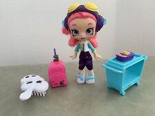 Shopkins Skyanna Shoppies Doll - Skyanna's World Vacation Jet Exclusive HTF!