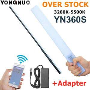 YONGNUO YN360S 3200-5500K Ultra-Thin Handheld LED Video Studio Fill Light stick