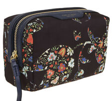 Tory Burch Perry Nylon Printed Small Cosmetic Case