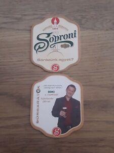 Bierdeckel Ungarn Soproni Sörgyar Beercoaster