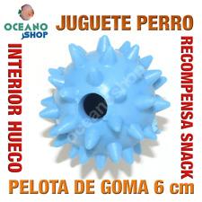 JUGUETE PERRO PELOTA GOMA RECOMPENSA SNACK INTERIOR ANTI-OBESIDAD 6 cm L150 2910