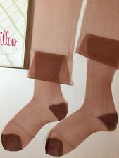 6 Pairs Vintage Pin-Up Girl Nylon Stockings 6 Rht 10 1/2 X 35 Ann Willow