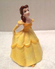 Disney Japan Belle Yellow Dress Porcelain Figurine Beauty and the Beast Movie