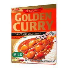 Preparato per curry giapponese golden (poco piccante) - 230 gS&B
