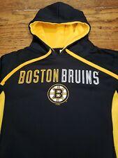 Boston Bruins Official NHL Hoodie Sweatshirt Adult S Black Stanley Cup Hockey