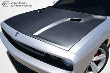 08-15 Dodge Challenger Carbon Fiber SRT Look Hood 1pc Body Kit 105786