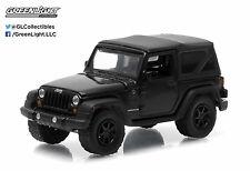 NEW! 1:64 GreenLight *BLACK BANDIT R12* 2012 Jeep Wrangler 4x4 *NIP*
