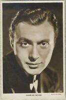 Charles Boyer 1930s Real Photo Postcard - RPPC - RKO Radio Movie Star