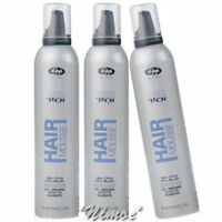 Hair Gel Mousse 3 x 300ml High Tech Lisap ® Wet Effect Effetto Bagnato Modella