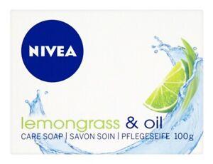 NIVEA Soap - Creme Care - Lemongrass & Oil - FREE UK P&P
