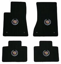 LLOYD Classic Loop™ Ebony FLOOR MAT SET logo on 4 mats, fits Cadillac STS RWD