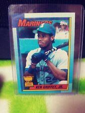 1990 Topps Ken Griffey Seattle Mariners #336 Baseball Card
