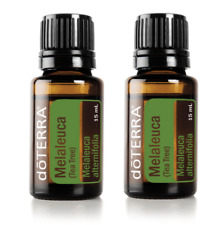 NEW doTERRA Tea Tree 15ml x2 Therapeutic Grade Pure Essential Oil Aromatherapy