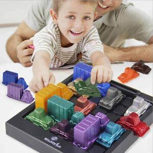 Funny Rush Hour Traffic Jam Game Spares Logic Game Kids intelligence ToyLDUK MB