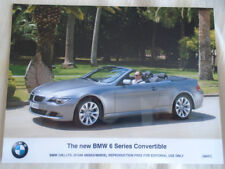 BMW 6 Series Convertible press photo Jun 2007
