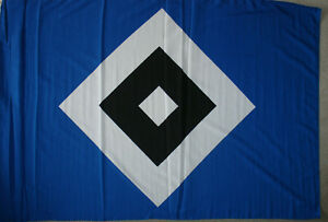 HSV Fahne  Flagge Fahne Offizielles Produkt Wetterfest Neu ca 150 x 200 cm lesen