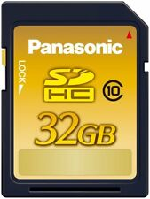 Panasonic 32GB SDHC memory card CLASS10 RP-SDWA32GJK With Tracking Japan Import