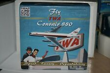 Convair CV-880 TWA N812TW,Inflight 200