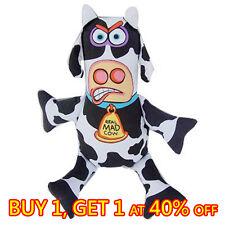 Dog Doggy Durable Canvas Fat Cat Chew Molar Toy - Big Cow