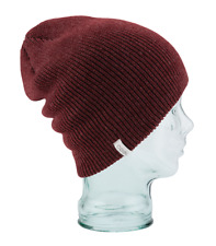 8947fdf7992 Coal The Frena Solid Beanie One Size Heather Burgundy 207913