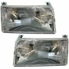 FIT FOR 1992 1993 1994 1995 1996 FD F-150 HEADLIGHTS RIGHT & LEFT PAIR