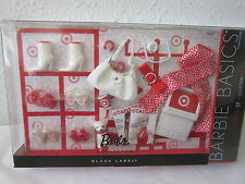 NEW NRFB BLACK LABEL BARBIE BASICS LOOK NO 01 COLLECTION RED