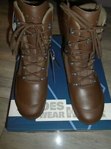 HAIX MENS COMBAT HIGH LIABILITY BOOTS SIZE 8M BRITISH ARMY ISSUE NEW
