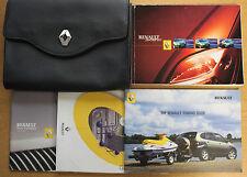 RENAULT SCENIC II OWNERS MANUAL HANDBOOK WALLET 1999-2003 PACK 14543