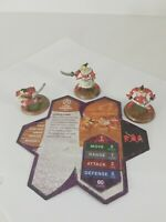 Heroscape Izumi Samurai With Cards Rise Of The Valkyrie Hasbro EUC